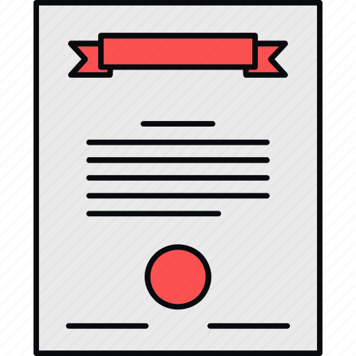 Certificate, certification, degree, diploma icon - Download on Iconfinder