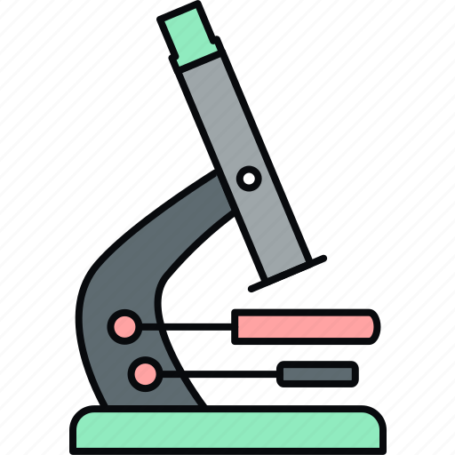 biology, micro, microscope, research, science icon