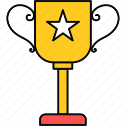achievement, cup, prize, trophy icon