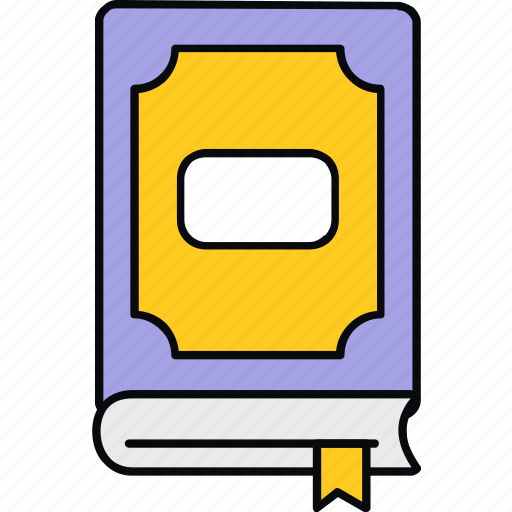 address, book, bookmark, education, notebook, school, study icon