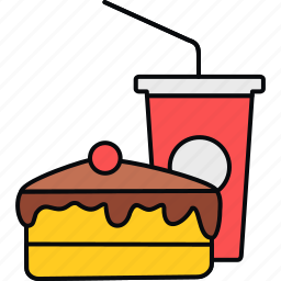 canteen, dessert, fast, fastfood, food, meal icon