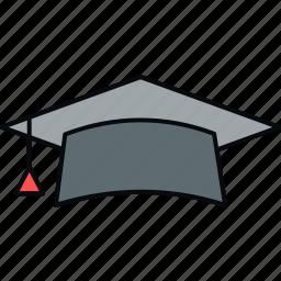 diploma, education, graduate, graduation, university icon