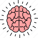 brain, science icon