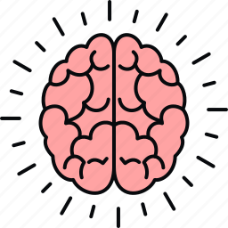 brain, science icon