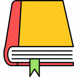 book, bookmark, education, notebook, reading icon