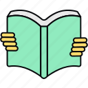 book, reading, read, open, learning
