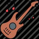 guitar, classes, music, class, classroom, musical icon