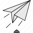 launch, mail, post, rocket, send, sent icon
