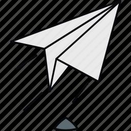 launch, mail, post, rocket, send, sent icon
