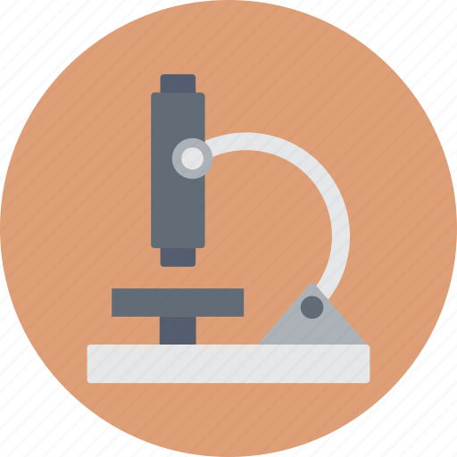 biochemistry, lab research, lab tool, laboratory, microscope icon