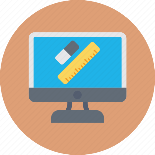 elearning, graphic designing, modern education, online study, student portal icon
