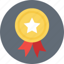 achievement, award, badge, reward, winner