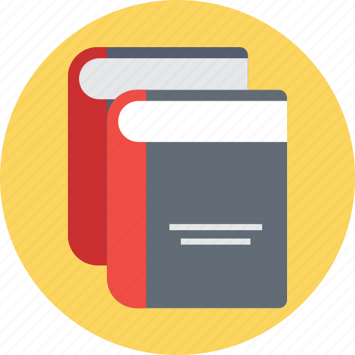books, encyclopedia, knowledge, library, reading icon