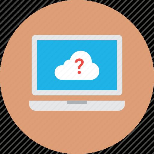 cloud computing, cloud faq, cloud support, faq, information support icon