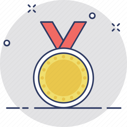 medal, prize, ranking, reward, winner icon