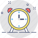 alarm, alarm clock, timekeeper, timepiece, wake up time icon