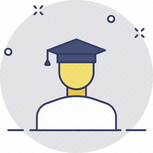 Graduate, graduation, postgraduate, scholar, student icon - Download on Iconfinder