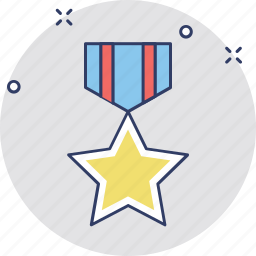 achievement, award badge, insignia badge, medal of honor, military medal, prize icon