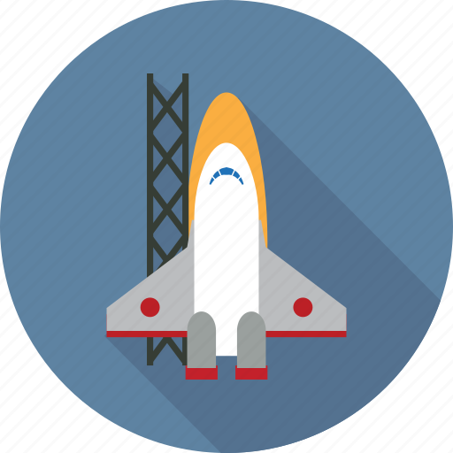 boost, launch, rocket, satellite, space, spaceship, technology icon