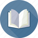 book, bookmark, education, open book, read, reading, study icon