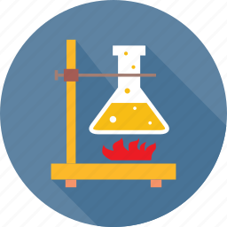experiment, fire, lab, lab test, practical, research, test icon