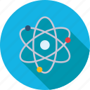 chemical, chemistry, orbit, physics, research, science, space icon
