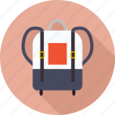 bag, school bag, student bag icon