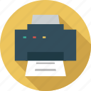 device, document print, hardware, print, printer icon