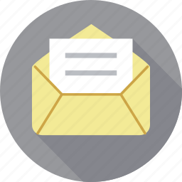 email, email marketing, envelope, inbox, letter, message, post icon