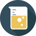 education, experiment, lab, laboratory, research, science, test icon