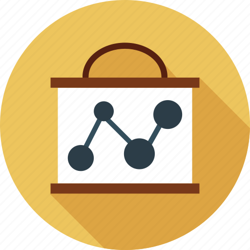 diagram, growth, progress, sharing, statistics icon