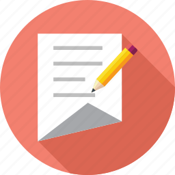 document, edit, notes icon