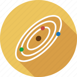 planet, space icon