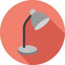 lamp, light, lightbulb, lightning, table lamp icon