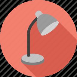 lamp, light, lightbulb, lightning, table lamp icon