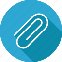 attach, attachment, clip, paperclip icon