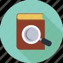 search, book, research, explore
