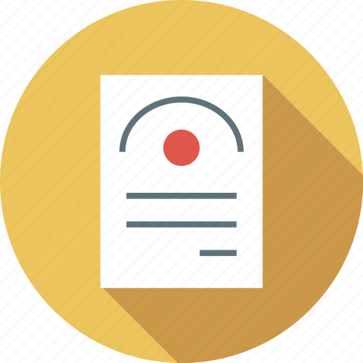 Degree, document, format, page icon - Download on Iconfinder