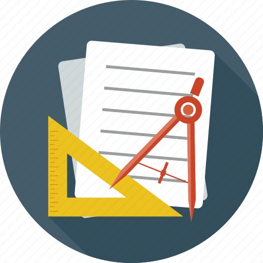 Documents, drawing tools, notes, tools, page, paper, settings icon - Download on Iconfinder