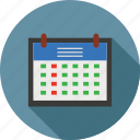 calendar, dates, days, months, schedule, scheduler, weeks icon