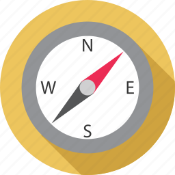 compass, direction, direction tool, safari icon