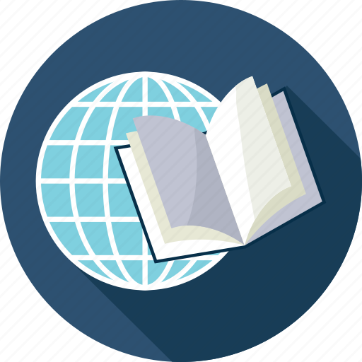 education, global knowledge, global learning, world class learning icon
