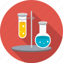 chemistry, lab, laboratory, research, science, tubes icon