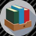 books, library icon