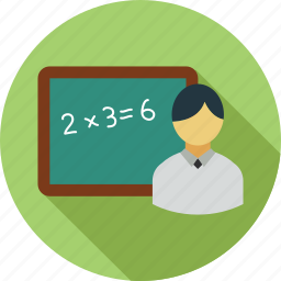 class, class room, class teacher, learning, teaching icon