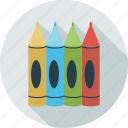 pencil set, pencils icon