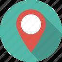 marker, navigation, pin, pointer icon