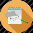 formula, notes icon
