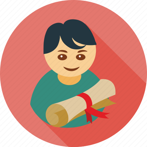 avatar, degree, people, student icon