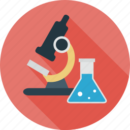 lab, microscope, research, science, testing icon